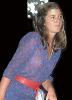 Caroline Kennedy 1985<br /> Photo By John Barrett/PHOTOlink