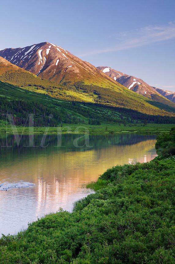 Lower Summit Lake, Kenai Peninsula and the Chugach National Forest, Alaska
