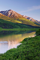 Lower Summit Lake, Kenai Peninsula and the Chugach National Forest, Alaska