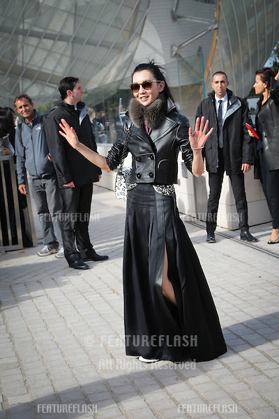 Maggie Cheung attend Louis Vuitton Show Front Row - Paris Fashion Week  2016.<br /> October 7, 2015 Paris, France<br /> Picture: Kristina Afanasyeva / Featureflash