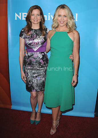 BEVERLY HILLS, CA - AUGUST 12:  Lennon Parham and Jessica St. Clair at the NBCUniversal 2015 Summer Press Tour at the Beverly Hilton on August 12, 2015 in Beverly Hills, California. Credit: PGSK/MediaPunch