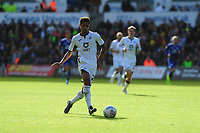 Kyle Naughton of Swansea City in action during the Sky Bet Championship match between Swansea City and Cardiff City at the Liberty Stadium in Swansea, Wales, UK. Sunday 27 October 2019