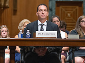 Dr. Michael Faulkender, professor of finance and associate dean of masters programs at the University of Maryland's Robert H. Smith School of Business, testifies before the United States Senate Committee on Finance on his nomination as Assistant Secretary of the Treasury for Economic Policy on Capitol Hill in Washington, DC on Wednesday, August 22, 2018.<br /> Credit: Ron Sachs / CNP