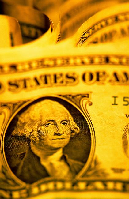 Billets de un dollar. ***  One Dollar Bills .
