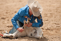 VHSRA - New Kent, VA - 5.18.2014 - Goat Tying