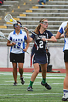 Redondo Beach, CA 05/14/11 - Emily Boone (St Margaret #2) in action during the 2011 Division 2 US Lacrosse / CIF Southern Section Championship game between Cate School and St Margaret.