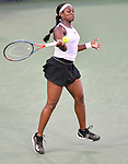 Sloane Stephens (USA) defeated Yulia Putintseva (KAZ) 2-6, 6-4, 6-3