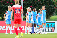 Boyds, MD - Saturday June 03, 2017:  Rachel Daly, Nichelle Prince, Morgan Brian, Janine Beckie during a regular season National Women's Soccer League (NWSL) match between the Washington Spirit and the Houston Dash at Maureen Hendricks Field, Maryland SoccerPlex