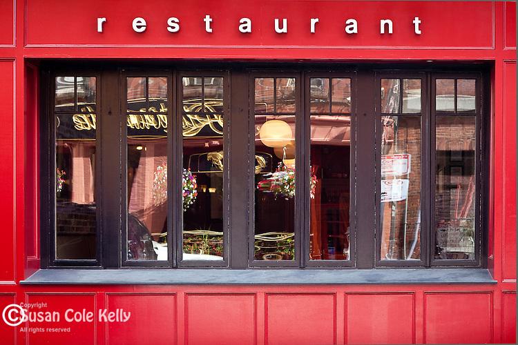A North End restaurant, Boston, MA, USA