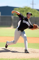 Nick Schnaitmann - Colorado Rockies - 2010 Instructional League.Photo by:  Bill Mitchell/Four Seam Images..