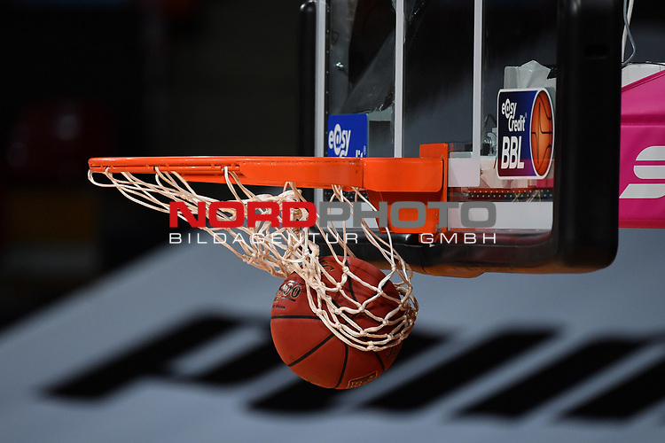 allgemein-Ball im Korb,<br /> <br /> Basketball 1.Bundesliga,BBL, nph0001-Finalturnier 2020.<br /> Viertelfinale am 18.06.2020.<br /> <br /> BROSE BAMBERG-EWE BASKETS OLDENBURG,<br /> Audi Dome<br /> <br /> Foto:Frank Hoermann / SVEN SIMON / /Pool/nordphoto<br /> <br /> National and international News-Agencies OUT - Editorial Use ONLY