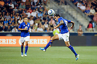 Tim Cahill (17) of Everton FC. The Philadelphia Union defeated Everton FC 1-0 during an international friendly at PPL Park in Chester, PA, on July 20, 2011.
