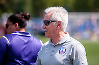Kansas City, MO - Wednesday August 16, 2017: Tom Sermanni during a regular season National Women's Soccer League (NWSL) match between FC Kansas City and the Orlando Pride at Children's Mercy Victory Field.