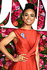 Lauren Ridloff arrives at The 72nd Annual Tony Awards on June 10, 2018 at Radio City Music Hall in New York, New York, USA. <br /> <br /> photo by Robin Platzer/Twin Images<br />  <br /> phone number 212-935-0770