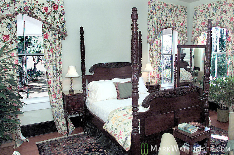 Ed Ball's bedroom on the second floor  of the Southwood Plantation house owned by the St Joe Company and the location of the Southwood development in Tallahassee, Florida.