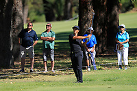 Thorbjorn Olesen (DEN) in action on the 1st during Round 2 Matchplay of the ISPS Handa World Super 6 Perth at Lake Karrinyup Country Club on the Sunday 11th February 2018.<br /> Picture:  Thos Caffrey / www.golffile.ie<br /> <br /> All photo usage must carry mandatory copyright credit (&copy; Golffile | Thos Caffrey)