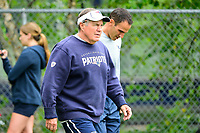 July 27, 2017: New England Patriots head coach Bill Belichick walks to the field at the New England Patriots training camp held on the at Gillette Stadium, in Foxborough, Massachusetts. Eric Canha/CSM