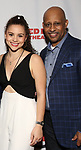Lily Santiago and Ruben Santiago-Hudson attends the Opening Night Party for Red Bull Theater's All-Female MAC BETH at Houston Hall on May 19, 2019 in New York City.