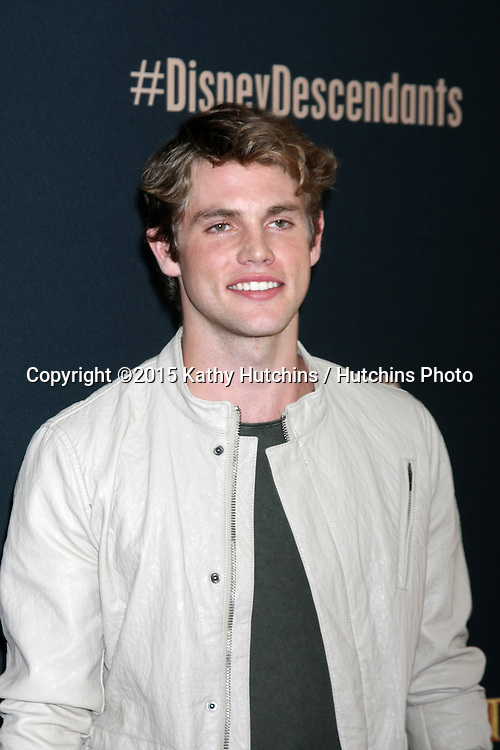 "LOS ANGELES - JUL 24:  Jedidiah Goodacre at the ""Descendants"" Premiere Screening at the Walt Disney Studios on July 24, 2015 in Burbank, CA"