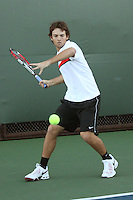 STANFORD, CA - NOVEMBER 16:  Alex Clayton of the Stanford Cardinal during photo day on November 16, 2009 at the Taube Family Tennis Stadium in Stanford, California.
