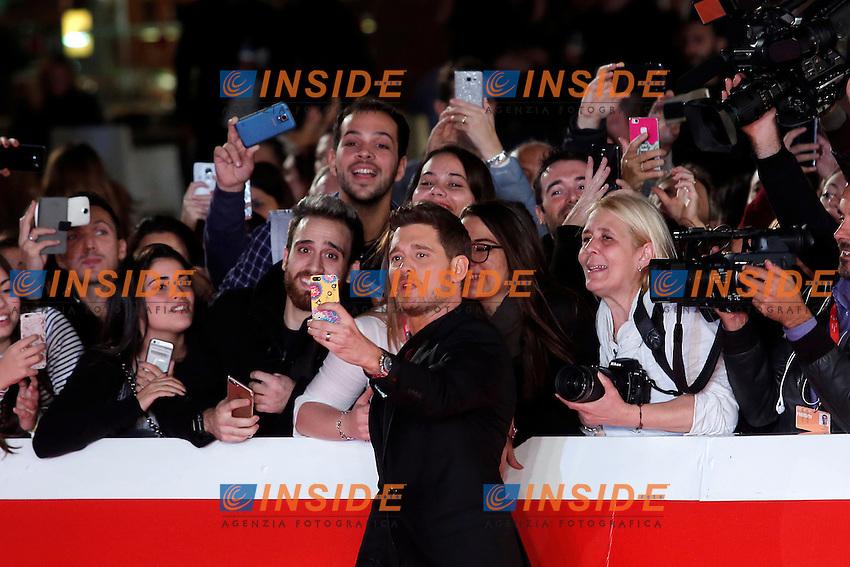 Michael Buble'<br /> Roma 14-10-2016. Festa del Cinema di Roma XI edizione<br /> Rome 14th October 2016. Rome Film Fest XI edition.<br /> Foto Samantha Zucchi Insidefoto
