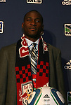 14 January 2010: Tony Tchani was selected with the #2 overall pick by New York Red Bulls. The 2010 MLS SuperDraft was held in the Ballroom at Pennsylvania Convention Center in Philadelphia, PA during the NSCAA Annual Convention.