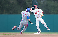 Stanford, CA - February 25, 2017: The Stanford Baseball team defeated Kansas Jayhawks 5-0 at Sunken Diamond field in Stanford