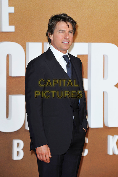 LONDON, ENGLAND - OCTOBER 20:  Tom Cruise attending 'Jack Reacher: Never Go Back' European Premiere at Cineworld, Leicester Square on October 20, 2016 in London, England.<br /> CAP/MAR<br /> &copy;MAR/Capital Pictures