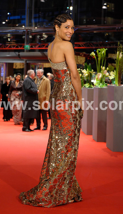 **ALL ROUND PICTURES FROM SOLARPIX.COM**.**SYNDICATION RIGHTS FOR UK AND SPAIN ONLY**.red carpet arrivals at the opening of Berlinale, the 59th Berlin Film Festival. Berlin, Germany. 5 February 2009..This pic: Annabelle Mandeng..JOB REF: 8406 CPR        DATE: 05_02_2009.**MUST CREDIT SOLARPIX.COM OR DOUBLE FEE WILL BE CHARGED**.**ONLINE USAGE FEE  GBP 50.00 PER PICTURE - NOTIFICATION OF USAGE TO PHOTO @ SOLARPIX.COM**