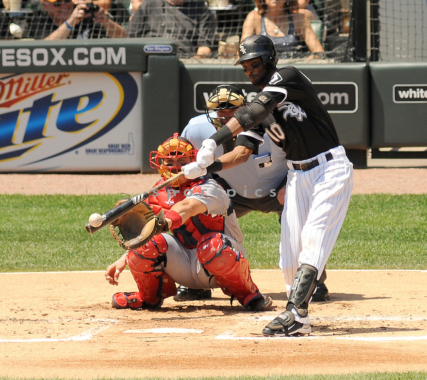 ALEXEI RAMIREZ, of the Chicago White Sox, in action during the White Sox game against the Boston Red Sox on July 31,2011 at US Cellular Field in Chicago, Illinois. The Red Sox beat the White Sox 5-3.