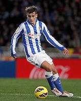 Real Sociedad's Antoine Griezman during La Liga match.January 19,2013. (ALTERPHOTOS/Acero) /NortePhoto