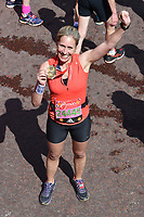 Sophie Raworth at the finish line on The Mall at the 2017 London Marathon, London, UK. <br /> 23 April  2017<br /> Picture: Steve Vas/Featureflash/SilverHub 0208 004 5359 sales@silverhubmedia.com
