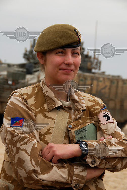 Lt Kate Goodall of the 1st Scots Guards.