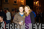 Yvonne Mcnamara and kevin higgins of newcastlewest pictured last saturday night in newcastlewest 2013