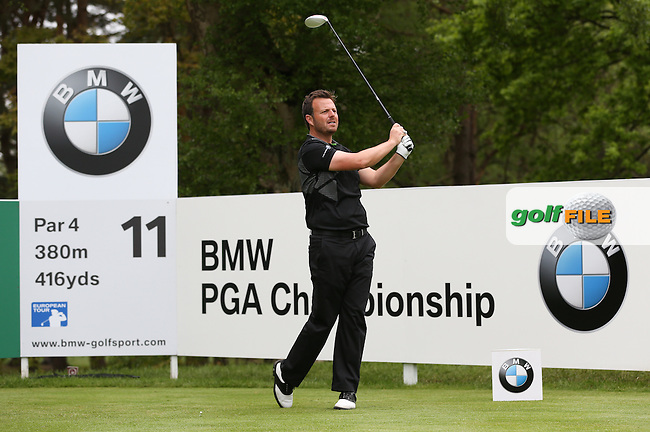 Benn Barham (ENG) during Round Two of the 2015 BMW PGA Championship over the West Course at Wentworth, Virginia Water, London. 22/05/2015Picture David Lloyd, www.golffile.ie.