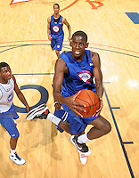 Jakarr Sampson at the NBPA Top100 camp June 19, 2010 at the John Paul Jones Arena in Charlottesville, VA. Visit www.nbpatop100.blogspot.com for more photos. (Photo © Andrew Shurtleff)