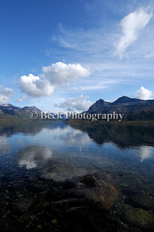 Battle Lake Alaska..