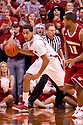 27 December 2011: Toney McCray #0 of the Nebraska Cornhuskers brings the ball down court against Wisconsin Badgers during the second half at the Devaney Sports Center in Lincoln, Nebraska. Wisconsin defeated Nebraska 64 to 40.