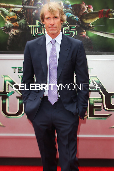 WESTWOOD, LOS ANGELES, CA, USA - AUGUST 03: Michael Bay at the Los Angeles Premiere Of Paramount Pictures' 'Teenage Mutant Ninja Turtles' held at Regency Village Theatre on August 3, 2014 in Westwood, Los Angeles, California, United States. (Photo by Celebrity Monitor)