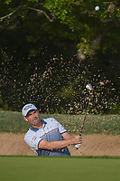 Padraig Harrington (IRL) hits from the trap on 6 during day 2 of the Valero Texas Open, at the TPC San Antonio Oaks Course, San Antonio, Texas, USA. 4/5/2019.<br /> Picture: Golffile | Ken Murray<br /> <br /> <br /> All photo usage must carry mandatory copyright credit (© Golffile | Ken Murray)