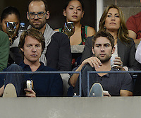 FLUSHING NY- SEPTEMBER 3: Chace Crawford is sighted watching Serena and Venus Williams Vs Kerlenko Petrova on Armstrong stadium at the USTA Billie Jean King National Tennis Center on September 3, 2012 in in Flushing Queens. Credit: mpi04/MediaPunch Inc. ***NO NY NEWSPAPERS*** /NortePhoto.com<br /> <br /> **CREDITO*OBLIGATORIO** <br /> *No*Venta*A*Terceros*<br /> *No*Sale*So*third*<br /> *** No*Se*Permite*Hacer*Archivo**<br /> *No*Sale*So*third*