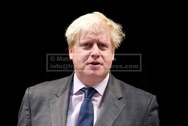 19/10/2012. LONDON, UK. Boris Johnson, the Mayor of London, is seen at Pimlico Academy in London today (19/12/12) as he delivers a talk on making London a world leader in Education. Photo credit: Matt Cetti-Roberts