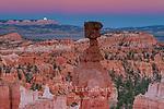 Moonrise, Thors Hammer, Bryce Canyon National Park, Utah