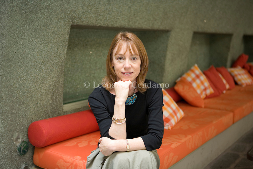 Milan, Italy, 2006. Lisa See, Chinese American writer and journalist. She's the author of 'Snow Flower and the Secret Fan' and has worked for Los Angeles Times, Washington Post, Cosmopolitan, Publisher Weekly.