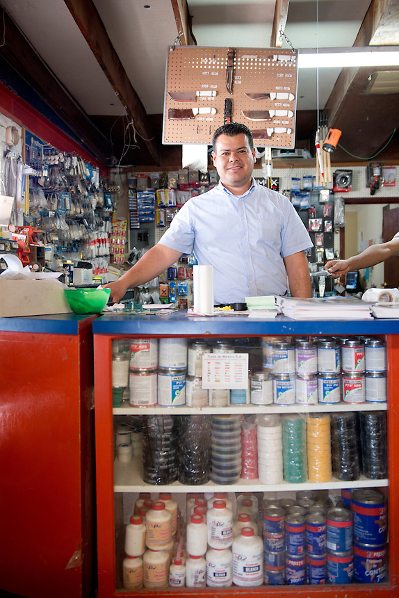 Ricardo Flores. Hardware store owners in Mexicali, Baja California, and San Luis Rio Colorado, Sonora.  Mexico