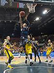 08.03.2020, EWE Arena, Oldenburg, GER, easy Credit-BBL, EWE Baskets Oldenburg vs RASTA Vechta, im Bild<br /> Jordan DAVIS (Rasta Vechta #1 ) Ian HUMMER (EWE Baskets Oldenburg #34 ) Rasid MAHALBASIC (EWE Baskets Oldenburg #24 ) Justin RAFFINGTON (RASTA Vechta #23 ) Karsten TADDA (EWE Baskets Oldenburg #9 )<br /> Foto © nordphoto / Rojahn