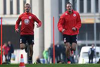 20.10.2015: Eintracht Frankfurt Training