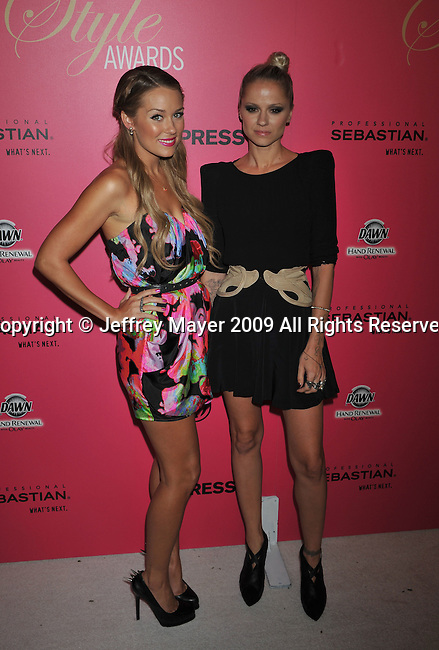WESTWOOD, CA. - October 11: Lauren Conrad and Britt Bardo arrive at the 6th Annual Hollywood Style Awards at the Armand Hammer Museum on October 11, 2009 in Los Angeles, California.