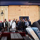 """London, Great Britain, April 2010:.Members of the Sikh community in front of  """"The Ship Aground"""" pub , which they bought to turn into the Sikh temple. The building was sold, because the pub did not create sufficient income..(Photo by Piotr Malecki / Napo Images)..Londyn, Wielka Brytania, Kwiecien 2010:.Czlonkowie sikhijskiej spolecznosci w Londynie przed pubem """"The Ship Aground"""", ktory kupili, by przebudowac na swiatynie Sikhow. Budynek zostal sprzedany tej spolecznosci przez wlasciciela, poniewaz pub nie przynosil dochodow..Fot: Piotr Malecki / Napo Images"""