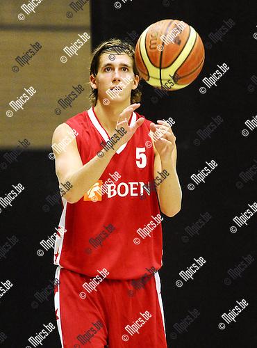 2015-08-19 / Basketbal / Seizoen 2015-2016 / Soba Basket / Axel Ibens<br /><br />Foto: Mpics.be